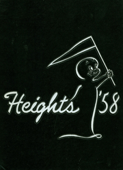 Arlington High School - Heights Yearbook (Arlington Heights, IL) online yearbook collection, 1958 Edition, Cover
