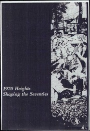 Arlington High School - Heights Yearbook (Arlington Heights, IL) online yearbook collection, 1970 Edition, Cover