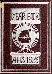 Arlington High School - Indian Yearbook (Arlington, MA) online yearbook collection, 1928 Edition, Cover