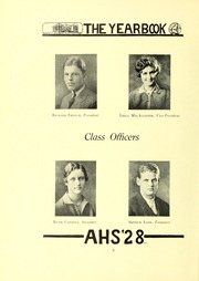Page 12, 1928 Edition, Arlington High School - Indian Yearbook (Arlington, MA) online yearbook collection
