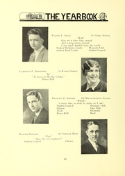 Page 16, 1928 Edition, Arlington High School - Indian Yearbook (Arlington, MA) online yearbook collection