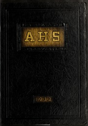Arlington High School - Indian Yearbook (Arlington, MA) online yearbook collection, 1932 Edition, Cover
