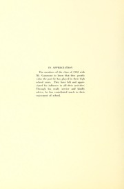 Page 10, 1932 Edition, Arlington High School - Indian Yearbook (Arlington, MA) online yearbook collection