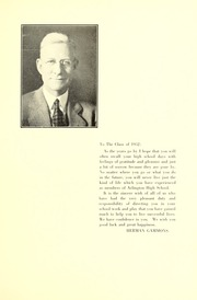Page 11, 1932 Edition, Arlington High School - Indian Yearbook (Arlington, MA) online yearbook collection