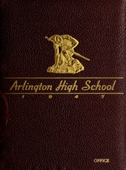 Arlington High School - Indian Yearbook (Arlington, MA) online yearbook collection, 1947 Edition, Cover