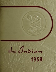 Arlington High School - Indian Yearbook (Arlington, MA) online yearbook collection, 1958 Edition, Cover