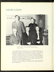 Page 8, 1958 Edition, Arlington High School - Indian Yearbook (Arlington, MA) online yearbook collection