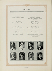 Arlington State College - Reveille Yearbook (Arlington, TX) online yearbook collection, 1928 Edition, Page 26 of 189
