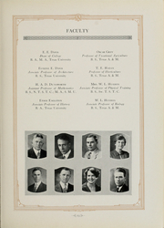 Arlington State College - Reveille Yearbook (Arlington, TX) online yearbook collection, 1928 Edition, Page 27