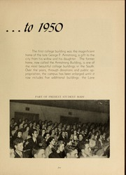 Page 9, 1950 Edition, Armstrong Atlantic State University - Geechee Yearbook (Savannah, GA) online yearbook collection