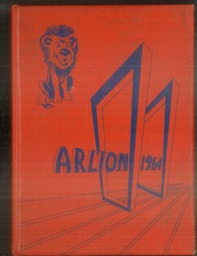 Arnold High School - Arlion Yearbook (Arnold, PA) online yearbook collection, 1964 Edition, Cover