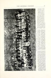 Arsenal Technical High School - Arsenal Cannon Yearbook (Indianapolis, IN) online yearbook collection, 1916 Edition, Page 11