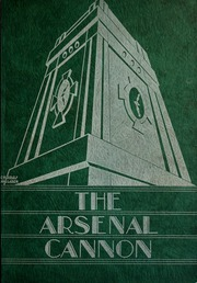 Arsenal Technical High School - Arsenal Cannon Yearbook (Indianapolis, IN) online yearbook collection, 1932 Edition, Cover