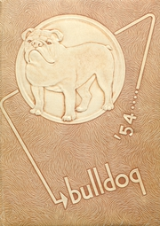 Artesia High School - Bulldog Yearbook (Artesia, NM) online yearbook collection, 1954 Edition, Cover