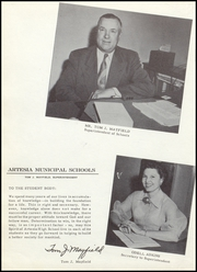Page 12, 1954 Edition, Artesia High School - Bulldog Yearbook (Artesia, NM) online yearbook collection