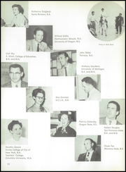 Page 14, 1956 Edition, Arvin High School - Praeterita Yearbook (Arvin, CA) online yearbook collection