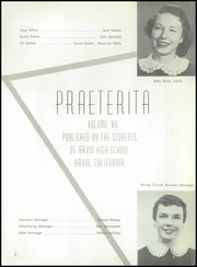 Page 6, 1956 Edition, Arvin High School - Praeterita Yearbook (Arvin, CA) online yearbook collection