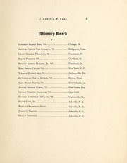 Page 7, 1924 Edition, Asheville School - Blue and White Yearbook (Asheville, NC) online yearbook collection