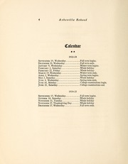 Page 8, 1924 Edition, Asheville School - Blue and White Yearbook (Asheville, NC) online yearbook collection