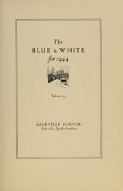 Page 9, 1944 Edition, Asheville School - Blue and White Yearbook (Asheville, NC) online yearbook collection