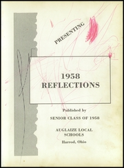 Auglaize Township School - Reflections Yearbook (Harrod, OH) online yearbook collection, 1958 Edition, Page 5