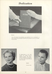 Avoca Central High School - Avocan Yearbook (Avoca, NY) online yearbook collection, 1956 Edition, Page 6