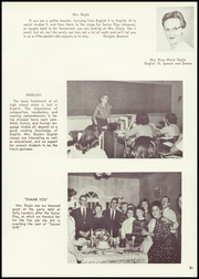 Bainbridge Central High School - Echo Yearbook (Bainbridge, NY) online yearbook collection, 1957 Edition, Page 55 of 96