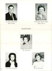 Baker High School - Arrowhead Yearbook (Columbus, GA) online yearbook collection, 1967 Edition, Page 14