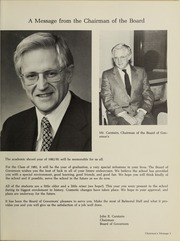 Balmoral Hall School - Optima Anni Yearbook (Winnipeg, Manitoba Canada) online yearbook collection, 1982 Edition, Page 9
