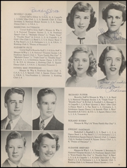 Barrington High School - Corral Yearbook (Barrington, IL) online yearbook collection, 1949 Edition, Page 17