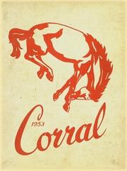 Barrington High School - Corral Yearbook (Barrington, IL) online yearbook collection, 1953 Edition, Cover