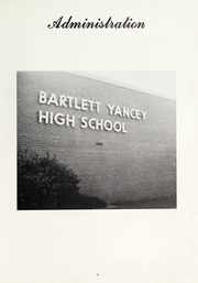 Bartlett Yancey High School - Yan Tat Yearbook (Yanceyville, NC) online yearbook collection, 1969 Edition, Page 13
