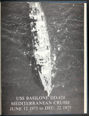 Basilone (DD 824) - Naval Cruise Book online yearbook collection, 1975 Edition, Page 5