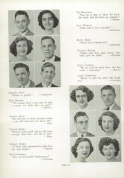 Bath High School - Recal Yearbook (Lima, OH) online yearbook collection, 1949 Edition, Page 16