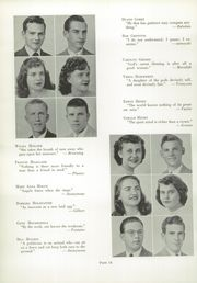 Bath High School - Recal Yearbook (Lima, OH) online yearbook collection, 1949 Edition, Page 18