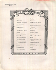 Battle Creek Central High School - Paean Yearbook (Battle Creek, MI) online yearbook collection, 1909 Edition, Page 12