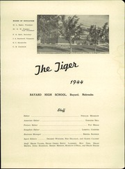 Bayard High School - Tiger Yearbook (Bayard, NE) online yearbook collection, 1944 Edition, Page 5