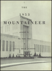 Beall High School - Mountaineer Yearbook (Frostburg, MD) online yearbook collection, 1953 Edition, Page 5