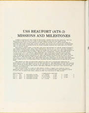 Beaufort (ATS 2) - Naval Cruise Book online yearbook collection, 1978 Edition, Page 6 of 64