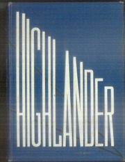 Bel Air High School - Highlander Yearbook (El Paso, TX) online yearbook collection, 1961 Edition, Cover
