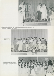 Page 15, 1961 Edition, Bel Air High School - Highlander Yearbook (El Paso, TX) online yearbook collection