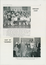 Bellows Free Academy - Alpha Omega Yearbook (St Albans, VT) online yearbook collection, 1951 Edition, Page 17 of 52