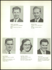 Bentley High School - Echo Yearbook (Burton, MI) online yearbook collection, 1958 Edition, Page 18