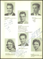 Bentley High School - Echo Yearbook (Burton, MI) online yearbook collection, 1959 Edition, Page 23 of 88
