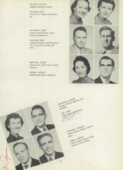 Bentley High School - Pioneer Yearbook (Livonia, MI) online yearbook collection, 1955 Edition, Page 21