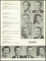 Bentley High School - Pioneer Yearbook (Livonia, MI) online yearbook collection, 1956 Edition, Page 31