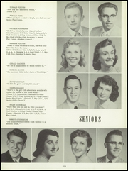 Bentley High School - Pioneer Yearbook (Livonia, MI) online yearbook collection, 1956 Edition, Page 33
