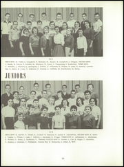 Bentley High School - Pioneer Yearbook (Livonia, MI) online yearbook collection, 1956 Edition, Page 58