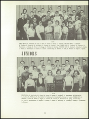 Bentley High School - Pioneer Yearbook (Livonia, MI) online yearbook collection, 1956 Edition, Page 59 of 176
