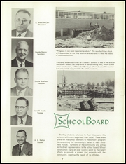 Bentley High School - Pioneer Yearbook (Livonia, MI) online yearbook collection, 1957 Edition, Page 11 of 140